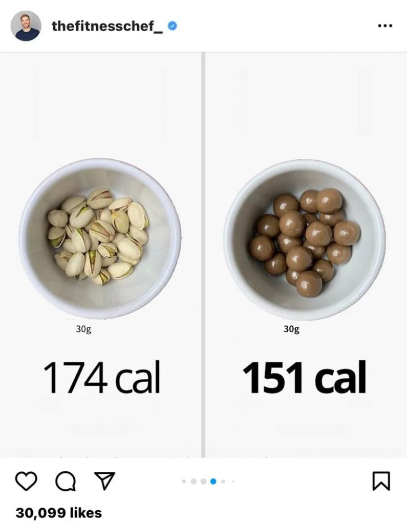 To be honest, stop staring at the calorie meter to lose weight!
