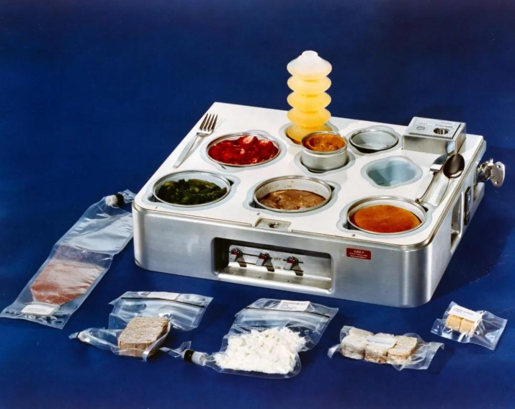 What do astronauts eat in space?